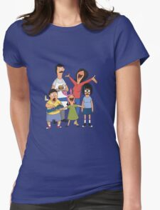 Dancing Belchers Womens Fitted T-Shirt