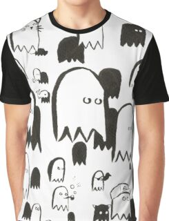 A Swarm of Ghosties Graphic T-Shirt