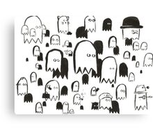 A Swarm of Ghosties Canvas Print