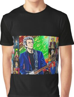 The Doctor of the Universe - The Silver Punk Graphic T-Shirt