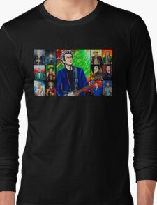 The Doctor of the Universe - The Silver Punk Long Sleeve T-Shirt