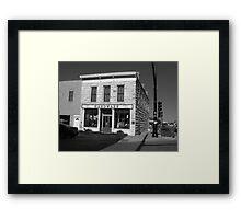 Hays, Kansas - Hardware Store Framed Print