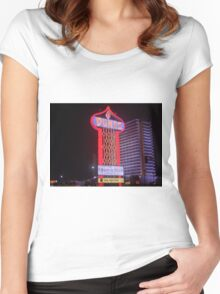 Las Vegas 1980 Women's Fitted Scoop T-Shirt