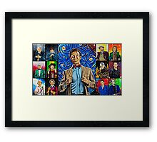 The Doctor of the Universe - The Promise Framed Print