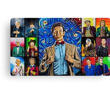 The Doctor of the Universe - The Promise Canvas Print