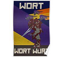 WORT WORT WORT Poster