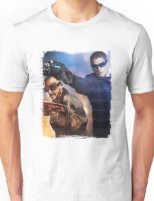 LOT - Captain Cold & Heatwave Paint Splash Unisex T-Shirt
