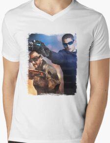 LOT - Captain Cold & Heatwave Paint Splash T-Shirt