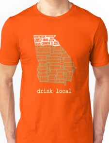Drink Local - Georgia Beer Shirt Unisex T-Shirt