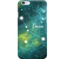 Cancer Zodiac Sign, June 21 - July 22 iPhone Case/Skin