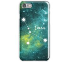 Cancer Zodiac Sign, June 21 - July 22 iPhone Case/Skin