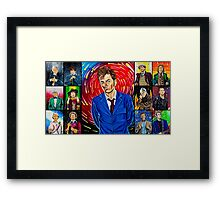 The Doctor of the Universe - The Hero Framed Print