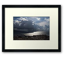 Shadows of Clouds  Framed Print