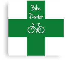 The Bike Doctor Canvas Print