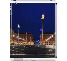 Nice, France - Place Massena Blue Hour  iPad Case/Skin