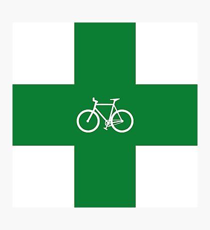 Bike Pharmacy Photographic Print