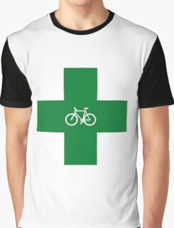 Bike Pharmacy Graphic T-Shirt