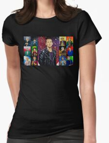 The Doctor of the Universe - The Survivor Womens Fitted T-Shirt