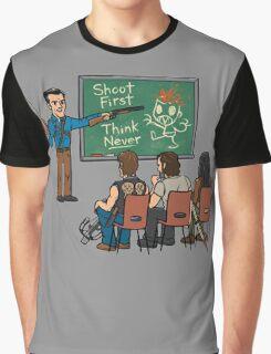 Evil vs Walking Graphic T-Shirt