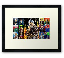 The Doctor of the Universe - The Warrior Framed Print