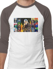 The Doctor of the Universe - The Warrior Men's Baseball ¾ T-Shirt