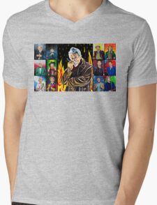 The Doctor of the Universe - The Warrior Mens V-Neck T-Shirt