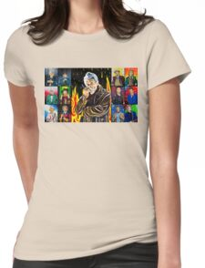 The Doctor of the Universe - The Warrior Womens Fitted T-Shirt