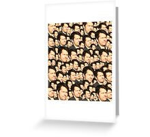 Misha's Face  Greeting Card