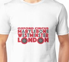 London Word Bus Unisex T-Shirt