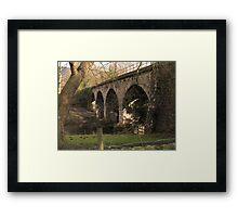 Rowsley Bridge Framed Print