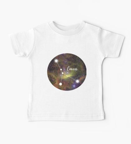 Cancer Zodiac Sign, June 21 - July 22 Baby Tee