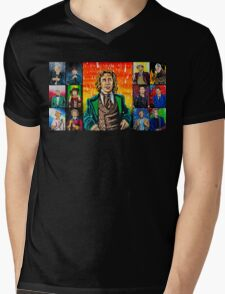 The Doctor of the Universe - The Romantic Mens V-Neck T-Shirt