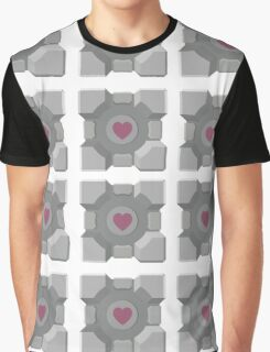 The cube is love, the cube is life -white- Graphic T-Shirt