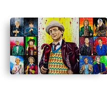 The Doctor of the Universe - The False Clown Canvas Print