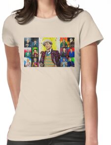 The Doctor of the Universe - The False Clown Womens Fitted T-Shirt