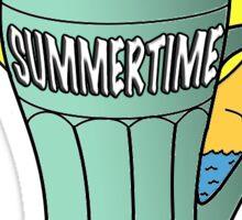 Summer Time Fun Sticker