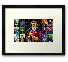 The Doctor of the Universe - The Dark Clown Framed Print