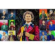 The Doctor of the Universe - The Dark Clown Photographic Print