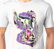 It's not worth crying over spilt milk - Original Wall Modern Abstract Art Painting Original mixed media Unisex T-Shirt