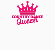 Country dance queen Womens Fitted T-Shirt