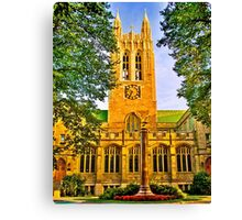 Study in Boston College Canvas Print