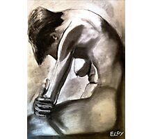Distraught Figurative Life Study Photographic Print