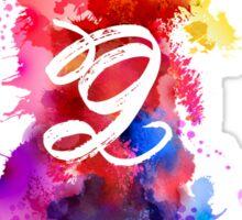 G Artistic Sticker