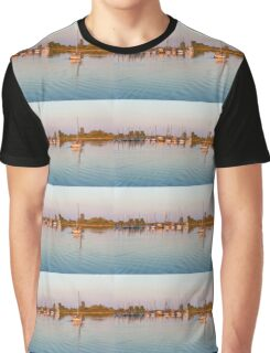 Impressions of Summer - Sailing Home at Sundown Graphic T-Shirt
