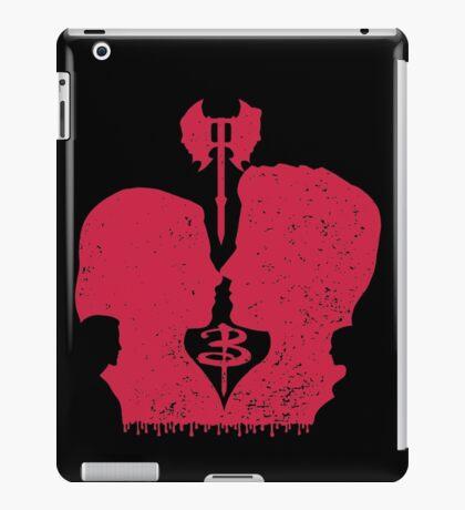 When you kiss me, I wanna die... iPad Case/Skin