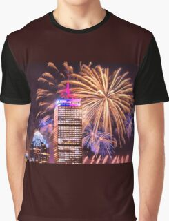Happy Fourth of July from Boston, MA Graphic T-Shirt
