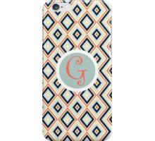 G Simple iPhone Case/Skin