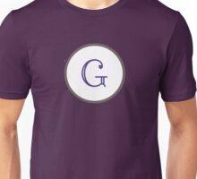 Purple Chevron G Unisex T-Shirt