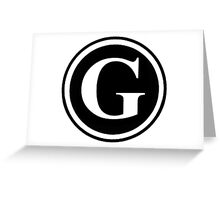 G1 Greeting Card