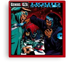 Liquid Swords Genius GZA Canvas Print